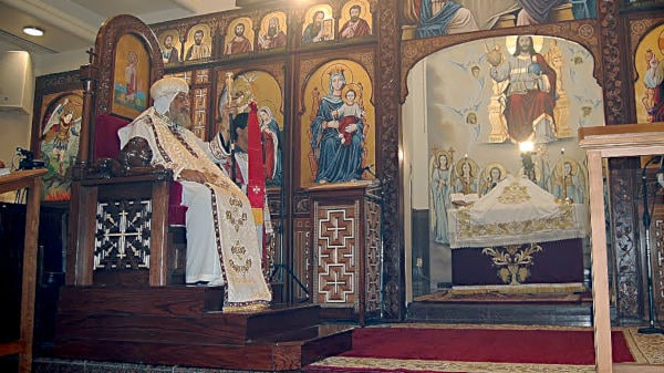 Homepage | St  Mary & St  Moses Abbey